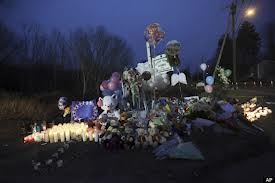 Memorial at Sandy Hook in Newtown CT.