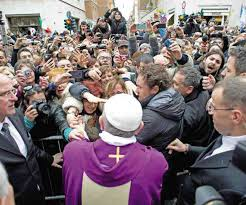 A meet and greet with Pope Francis