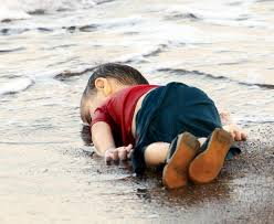 Aylan. He was 3 years old, from war-torn Syria