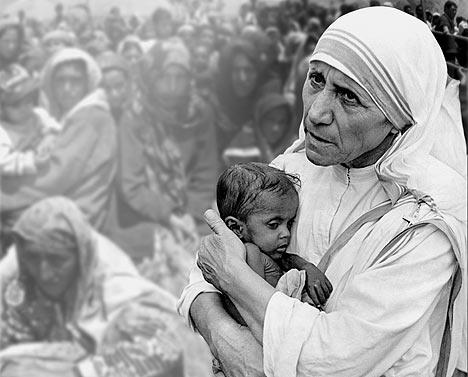 The Embrace - Mother Teresa
